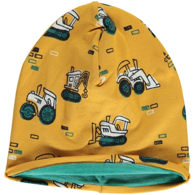 Maxomorra Hat Velour Brick Builders