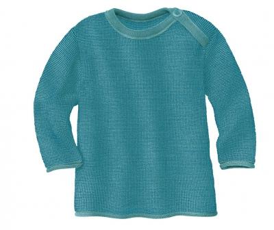 Disana Melange Pullover blau